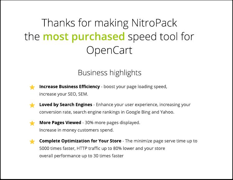 NitroPack - Complete Web Performance Optimization Framework