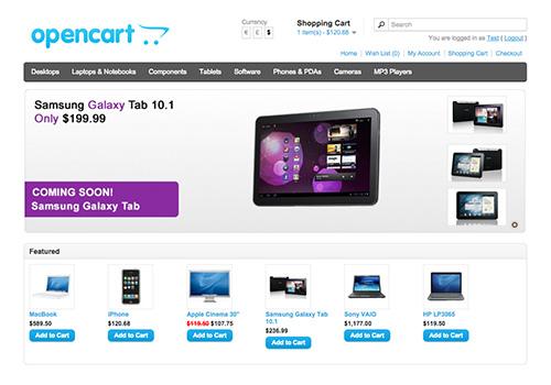 OpenCart 1.x