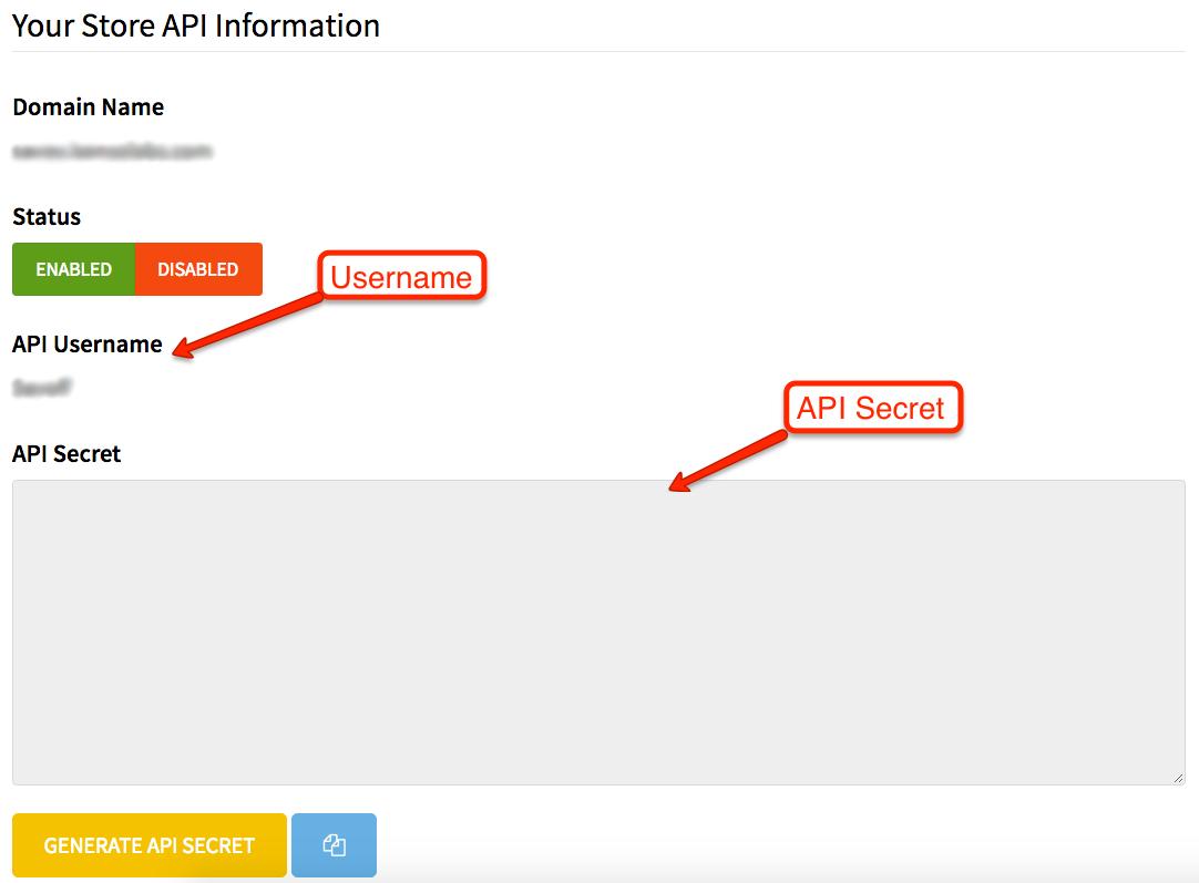 OpenCart 3.0 API Info