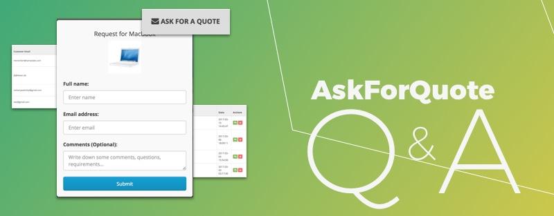 AskForQuote Q&A