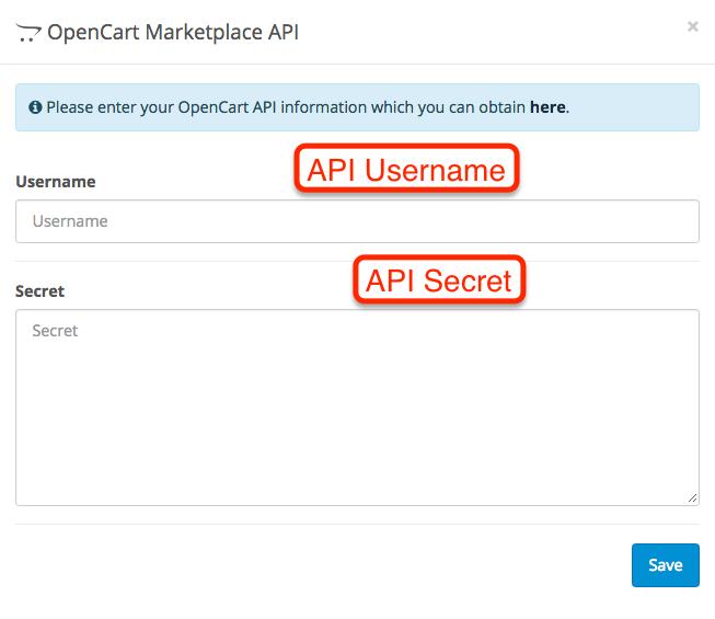 OpenCart 3.0 API