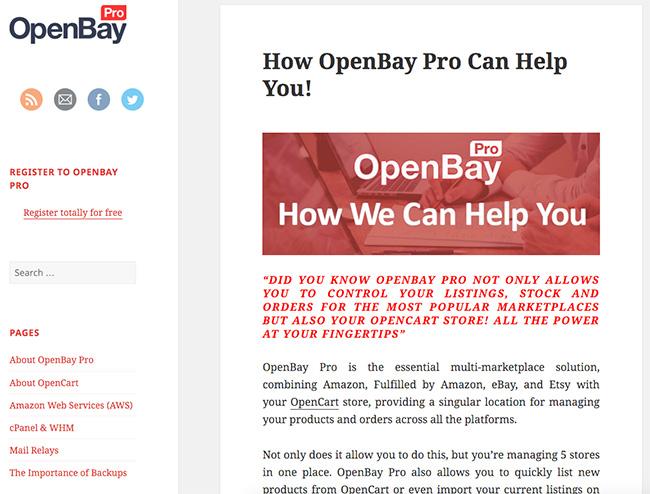 OpenBayPro