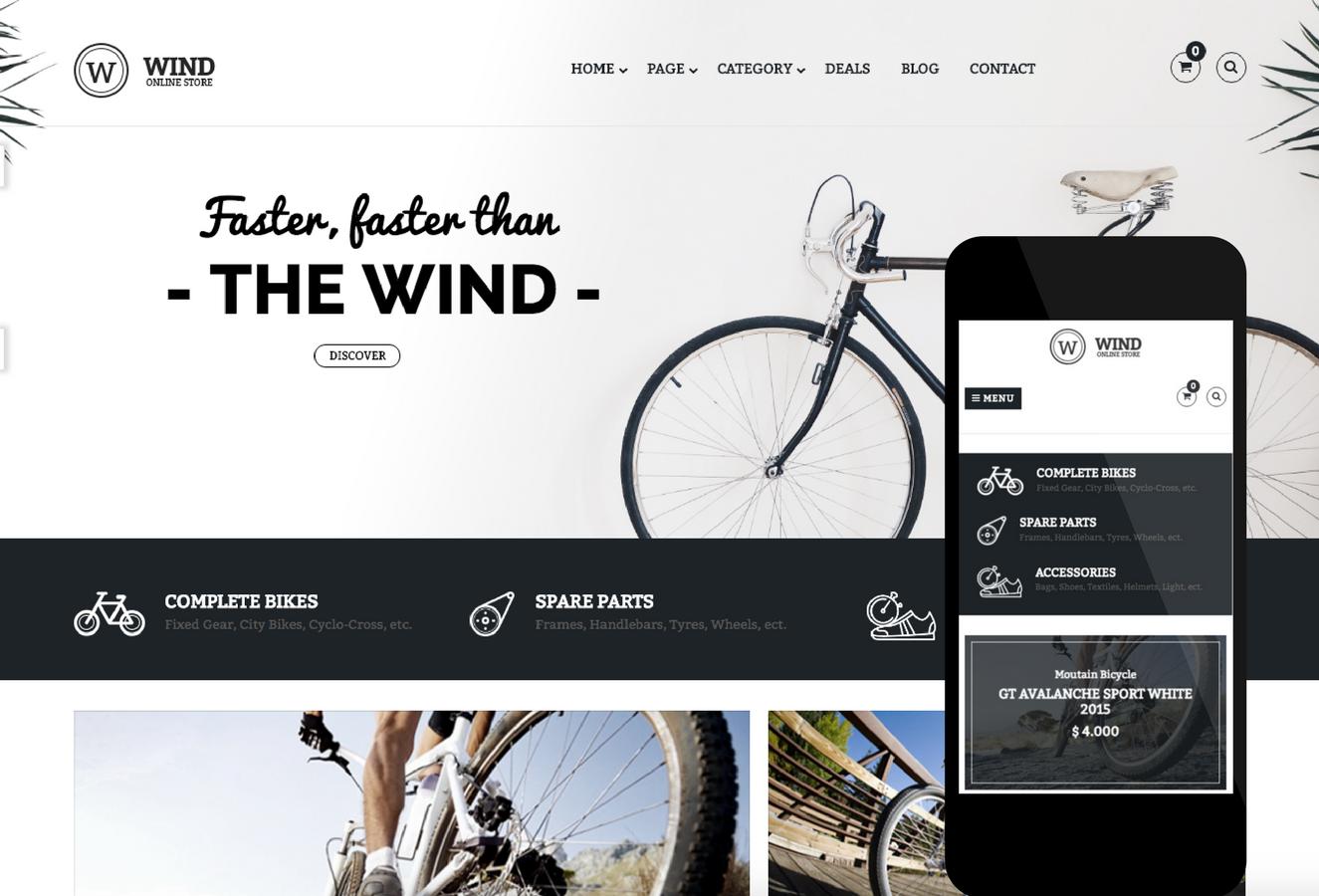 Pavo Wind OpenCart Theme