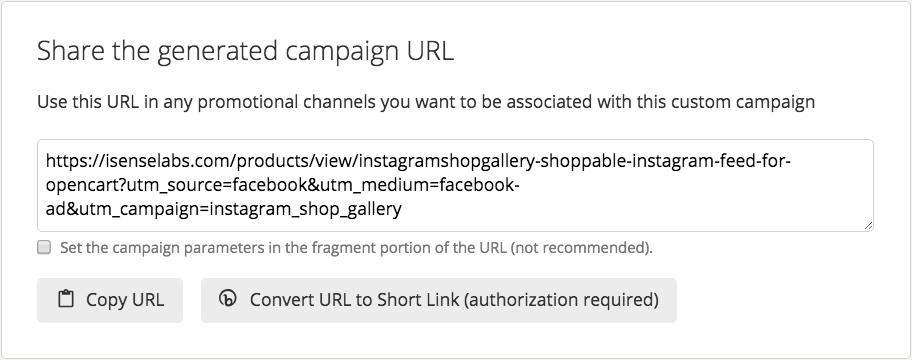 Google UTM URL Builder