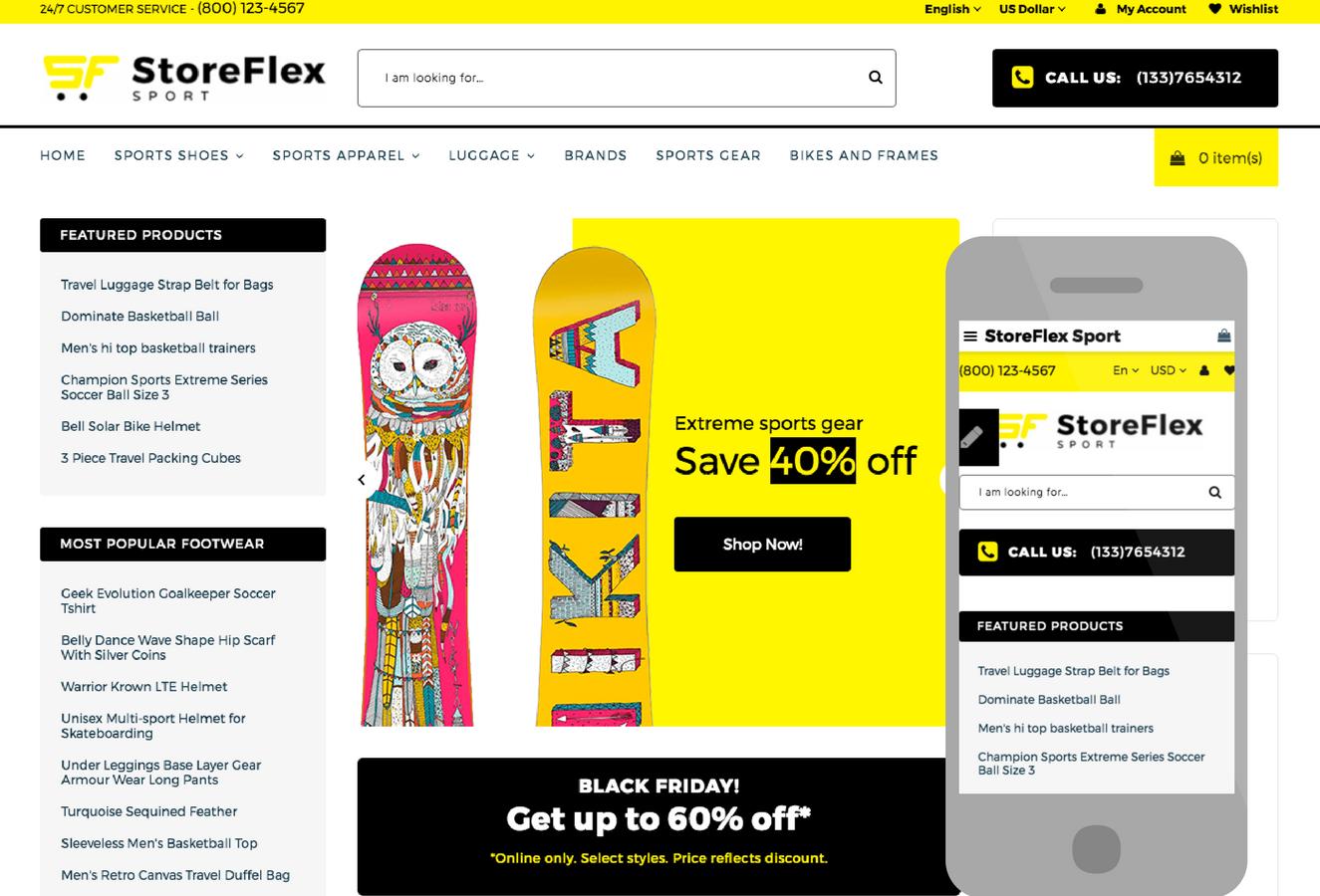 StoreFlex OpenCart Theme